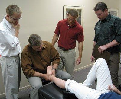 Chiropractic interns at Advanced Injury Rehabilitation Roseville, MN